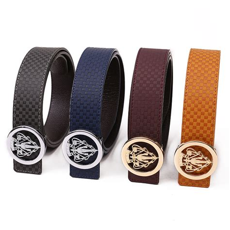 Designer Belts Men's