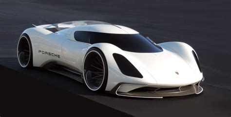 the porsche electric le mans 2035 prototype is a sci fi
