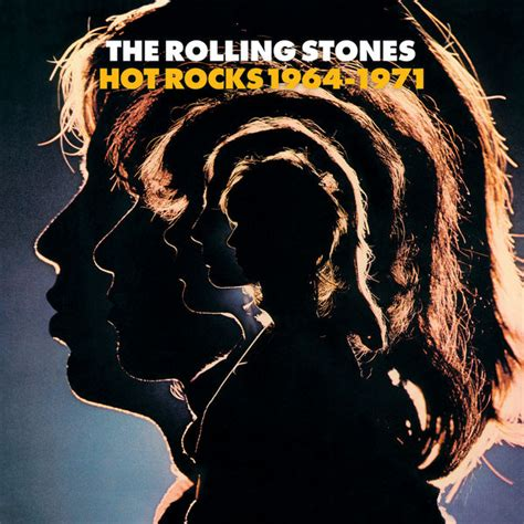 rocks 1964 1971 album cover by the rolling stones