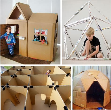 cardboard houses for kids indoor play houses
