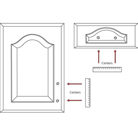 how to measure cabinet pulls how to measure your existing cabinet handles for