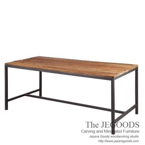 Meja Makan Furniture 187 gagah rustic dining table mebel meja makan finishing rustic glaze