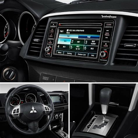 mitsubishi lancer 2017 interior 2017 mitsubishi lancer interior features photo gallery
