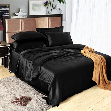 silk bedding 22 momme seamless silk bedding set