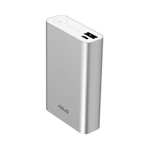 Asus Zenpower Power Bank 10050 Mah Silver Credit Card Size asus zenpower power bank10050 mah silver with usb cable