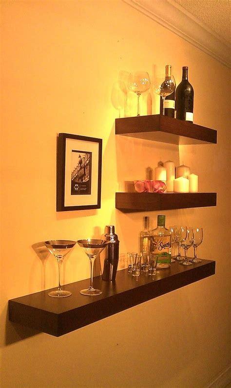 Unique Floating Shelves 25 Best Ideas About Game Room Bar On Pinterest Basement