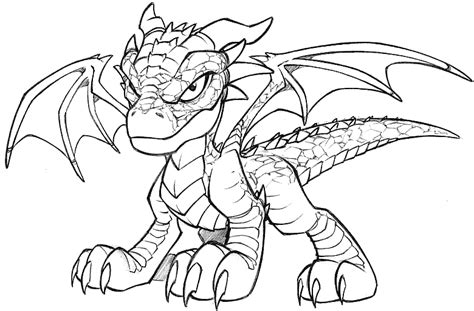 dragon kid printable coloring page for chinese