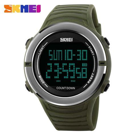 Jam Tangan Led Skmei Digital jual jam tangan pria skmei digital casual sporty led