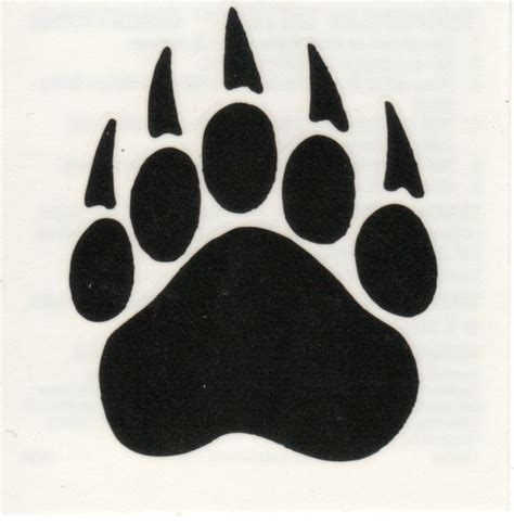 bobcat paw prints cliparts co
