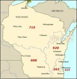 Wisconsin On A Map by Wisconsin Map