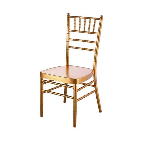 Chivalry Chairs by Gold Chiavari Chair Exclusive Events