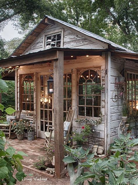 Sheds Used For Houses by Best 25 Garden Houses Ideas On