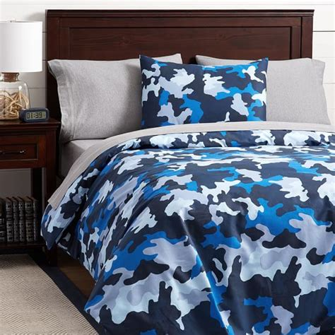 blue camouflage bedding cool blue brown and grey camo bedding