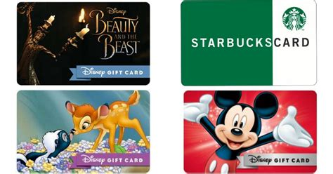Deals On Disney Gift Cards - disney movie rewards use points score nice deals on disney starbucks gift cards