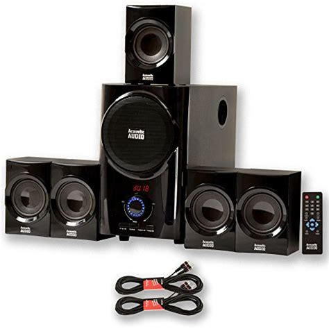 review acoustic audio aa5160 home theater 5 1