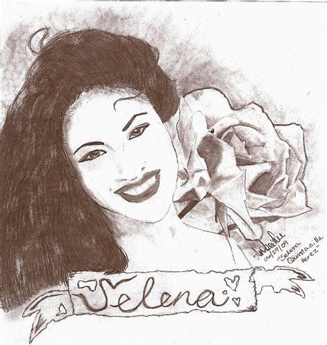 Selena Q Drawing by Selena By Amberlee87 On Deviantart