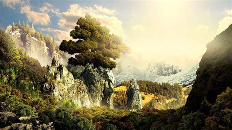 imagenes de paisajes de 1920x1080 paisaje 3d 1366x768 fondos de pantalla y wallpapers