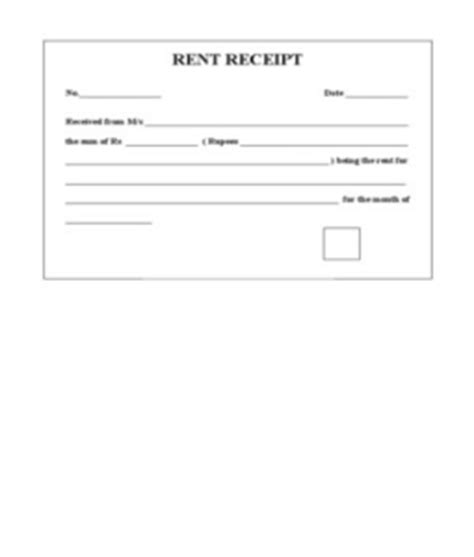 house rent receipt template india posts