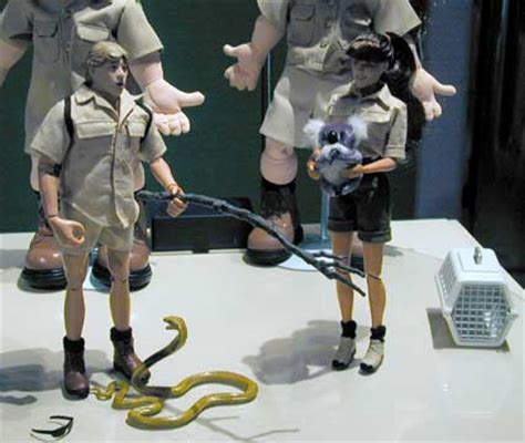 Company To Make Steve Irwin Figure by Raving Maniac N2 Toys Fair 2000 Coverage