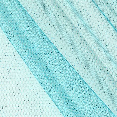 pattern tulle fabric sparkle tulle teal discount designer fabric fabric com