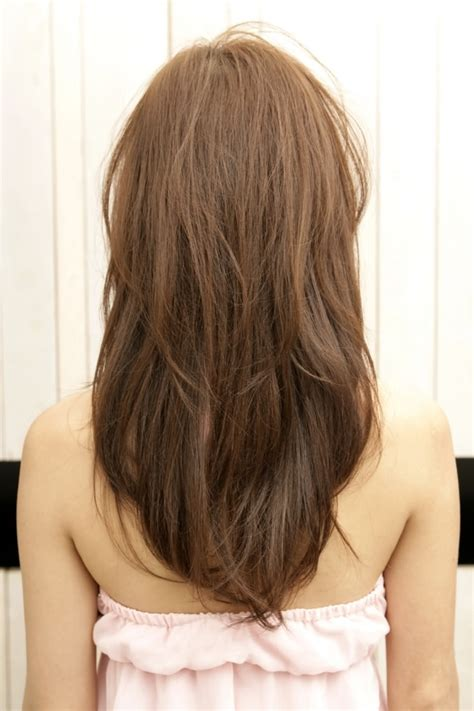 long hairstyles from behind long hairstyles layers back view best hair style