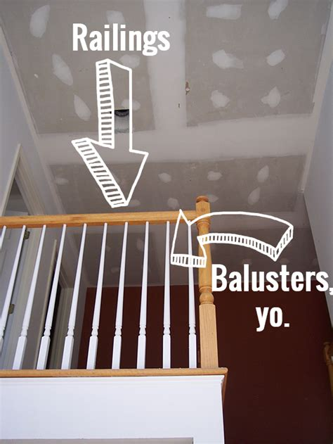 Banister Vs Baluster How To Refinish And Update Wood Stair Railings