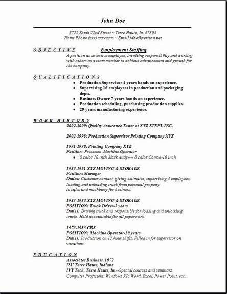 Temp Agency Resume by Employment Staffing Resume Occupational Exles Sles