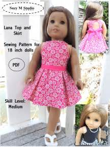 Very cute and modern lana top and skirt sewing pattern is suitable