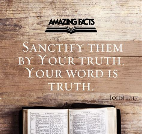 sanctify them by your truth your word is truth john 17 ppt download