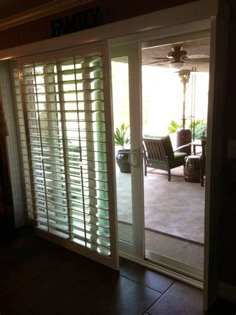 Window Treatments For Sliding Glass Patio Doors 17 Best Images About Sliding Door And Window Treatments On Pinterest Window Treatments