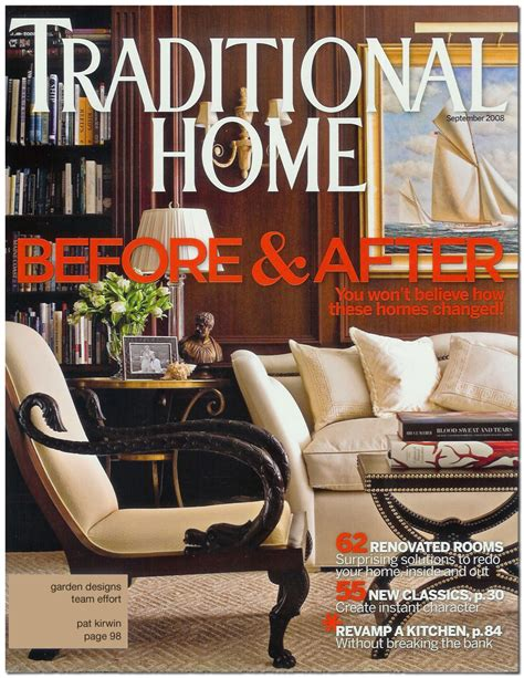 at home magazine traditional home magazine