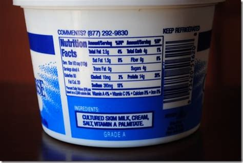 cottage cheese ingredients a new addition to the list iowa eats