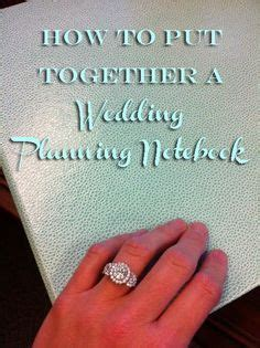 Best Wedding Organizer Notebook by How To Build A Floor Tents