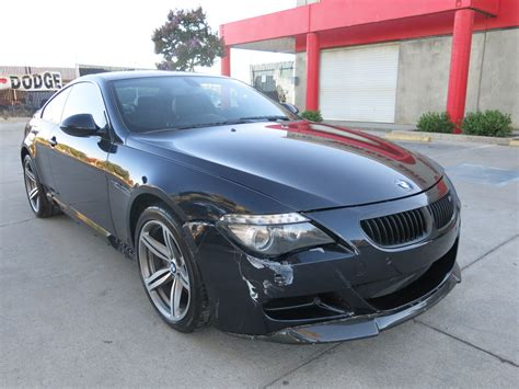 sport lights for sale light collision 2009 bmw m6 coupe repairable for sale