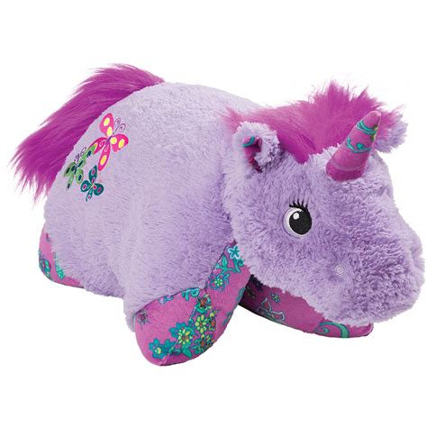 plush pillows pillow pets 18 quot lavender unicorn stuffed animal plush