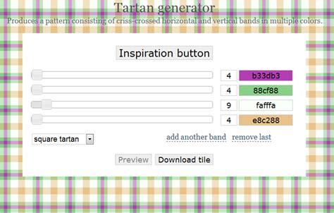 web layout generator online web design experiments tartan pattern online generators