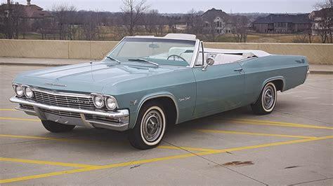 65 impala convertible for sale 1965 chevrolet impala ss convertible 194184