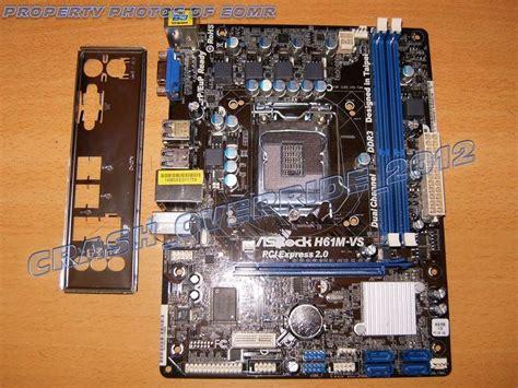 Motherboard H61 Ddr3 Lga 1155 motherboard asrock h61m vs intel h61 socket 1155 usa ddr3