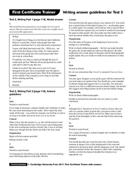 fce test fce trainer tests