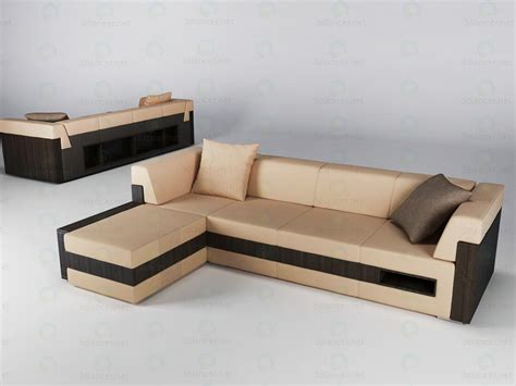 sofas models 3d model sofa in the style of high tech id 11059