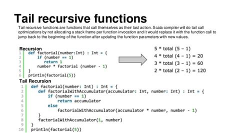 scala pattern matching tail recursion scala functions