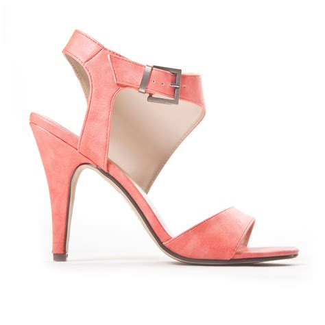 coral high heels high top heels in coral from dainty hooligan new arrivals