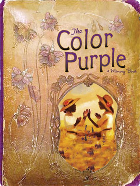 the color purple book and the color purple a memory book by lise funderberg