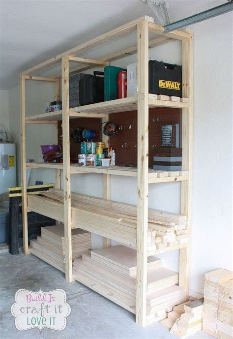 easy diy garage shelving hometalk