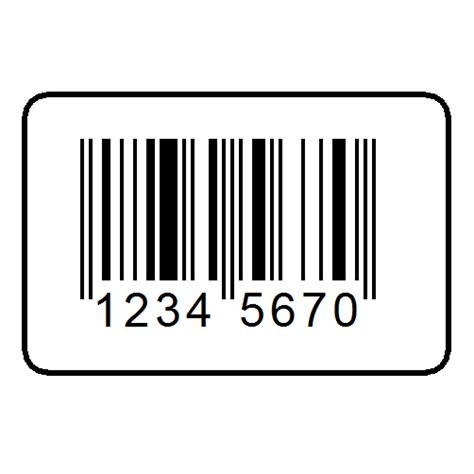 St Barcode White barcodes with price