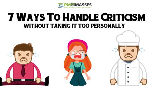 7 Tips On Handling Critics by Project Management For The Masses Is A Project You