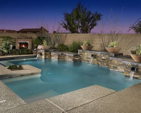 Backyard Pools In Arizona Pool Design By Shasta Industries Inc Of Arizona