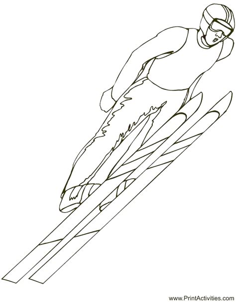 index of coloringpages skiing coloring pages
