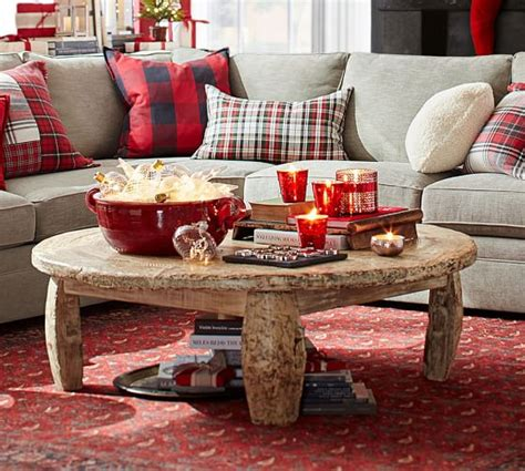 Coffee Table With Wheels Pottery Barn Bullock Cart Wheel Coffee Table Pottery Barn