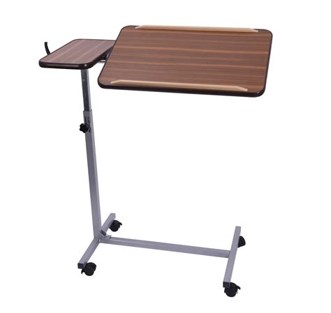 drive medical overbed table assembly drive deluxe overbed adjustable table
